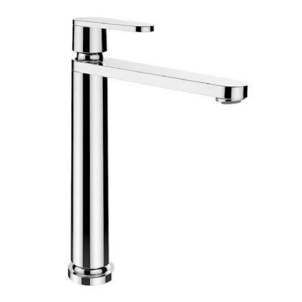 311858 - Laufen The New Classic Column Single Lever Basin Mixer Tap with 175mm Spout - 3.1185.8